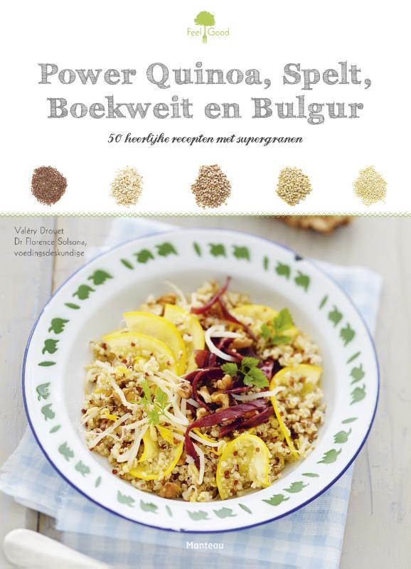 Power quinoa, spelt, boekweit en bulgur