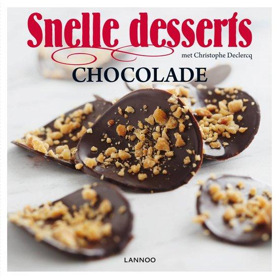 Snelle dessert – Chocolade