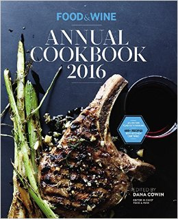Food & Wine Annual Cookbook 2016